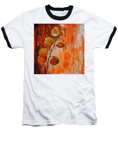 Leaves1 Baseball T-Shirt
