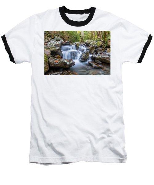 Leconte Creek Watrefall Baseball T-Shirt