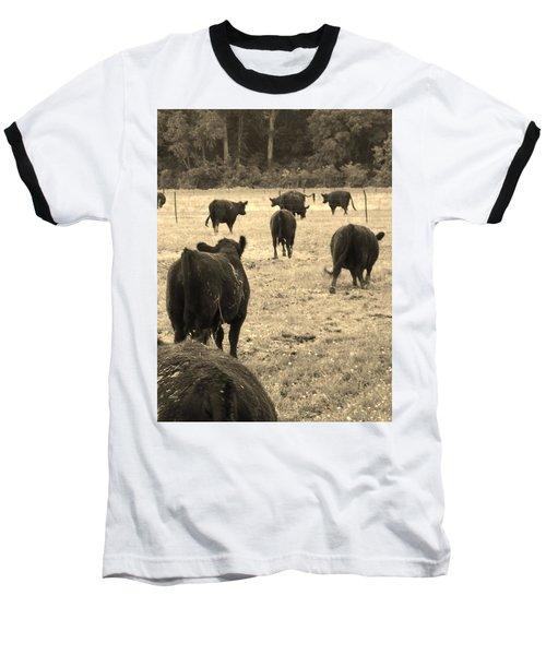 Left Behind,la. Baseball T-Shirt