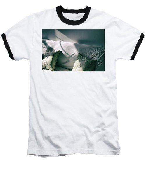 Baseball T-Shirt featuring the photograph Leftover Light by Steven Huszar