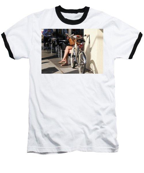 Leg Power - On Montana Avenue Baseball T-Shirt