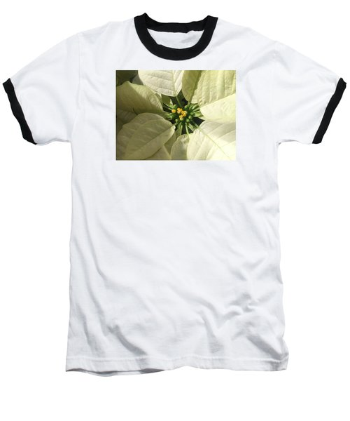 Legend Of The Poinsettia  Baseball T-Shirt