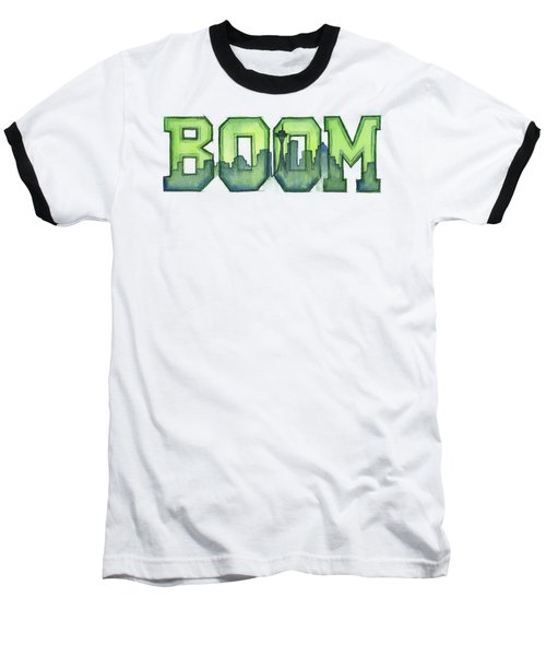 Legion Of Boom Baseball T-Shirt by Olga Shvartsur