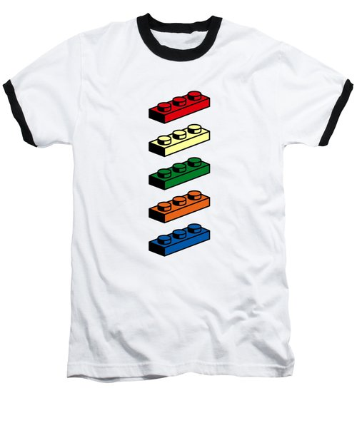 Baseball T-Shirt featuring the photograph Lego T-shirt Pop Art by Edward Fielding