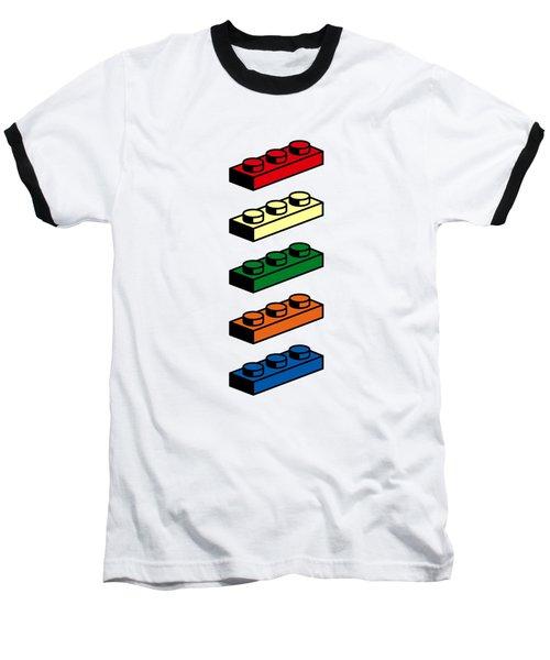 Lego T-shirt Pop Art Baseball T-Shirt