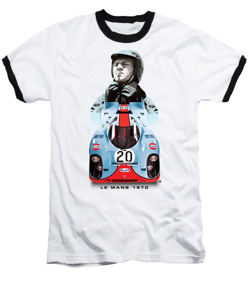 Lemans Racing Baseball T-Shirt