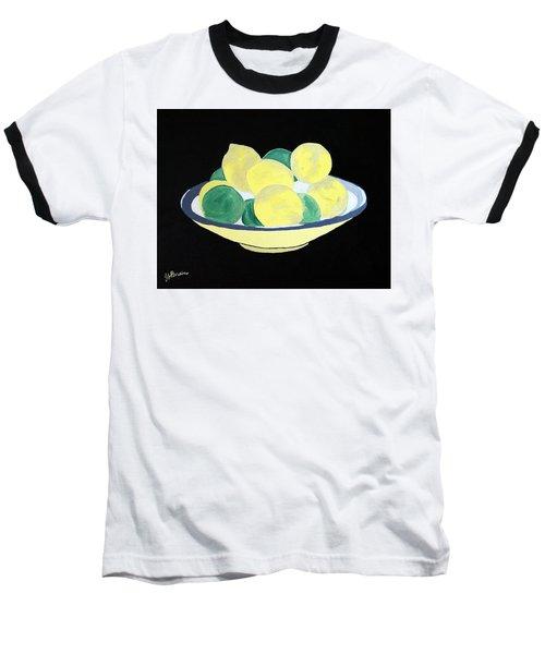 Lemons And Limes In Bowl Baseball T-Shirt