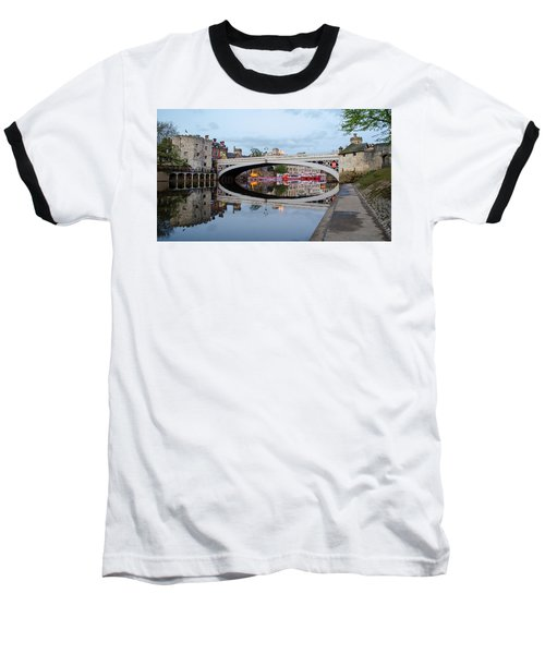 Lendal Bridge Reflection  Baseball T-Shirt