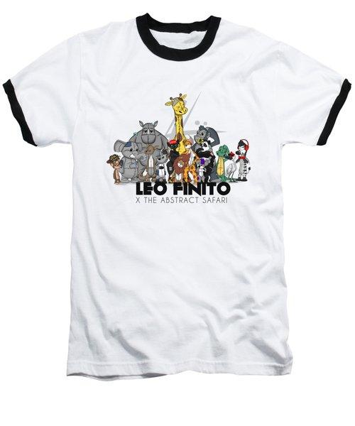 Leo Finito And The Abstract Safari Baseball T-Shirt