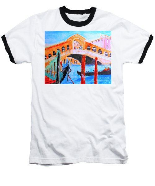 Leonardo Festival Of Venice Baseball T-Shirt