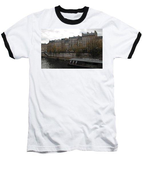 Les Jardins Du Pont Neuf Baseball T-Shirt