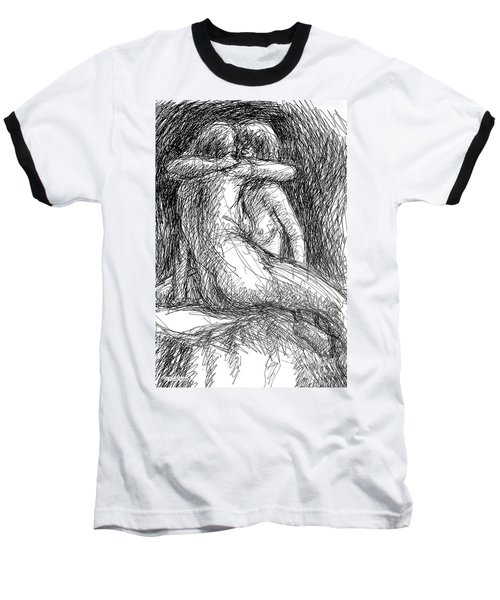 Lesbian Sketches  1 Baseball T-Shirt