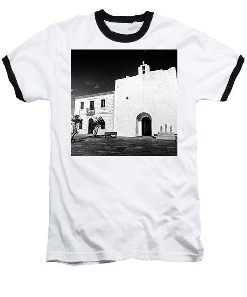 Fortified Church, Formentera Baseball T-Shirt