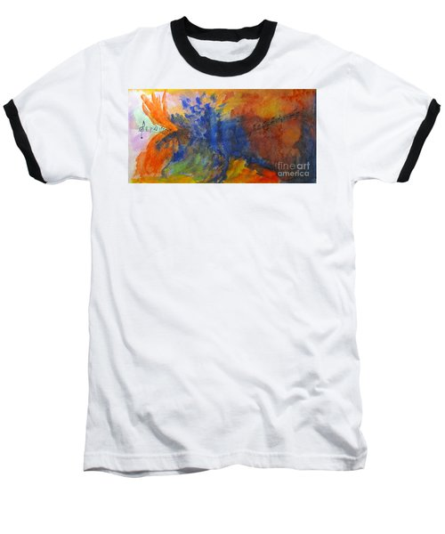 Let Your Music Take Wing Baseball T-Shirt