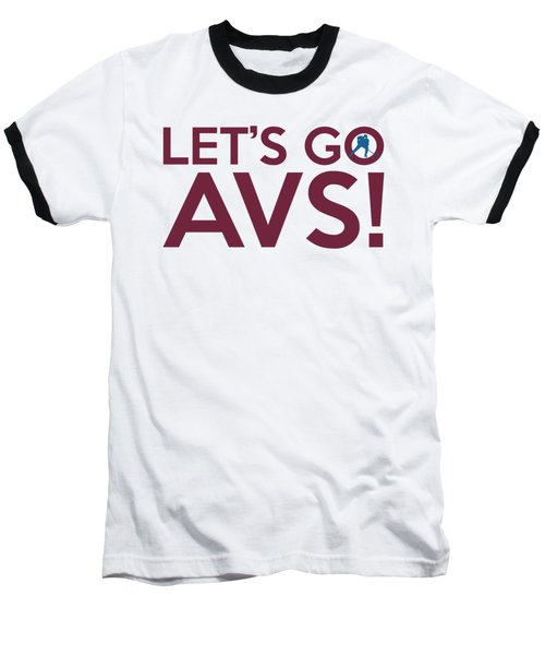 Let's Go Avs Baseball T-Shirt
