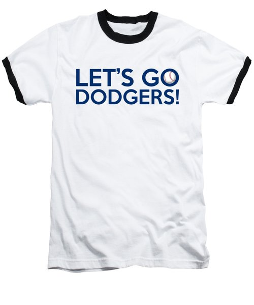 Let's Go Dodgers Baseball T-Shirt