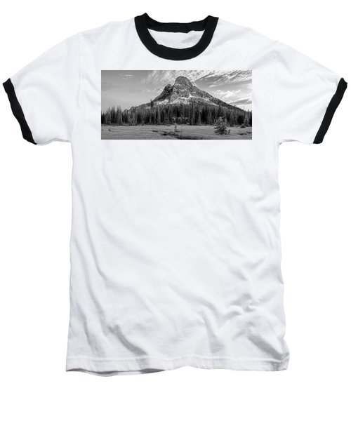Baseball T-Shirt featuring the photograph Liberty Mountain At Sunset by Jon Glaser