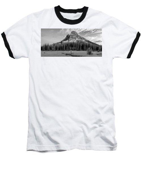 Liberty Mountain At Sunset Baseball T-Shirt