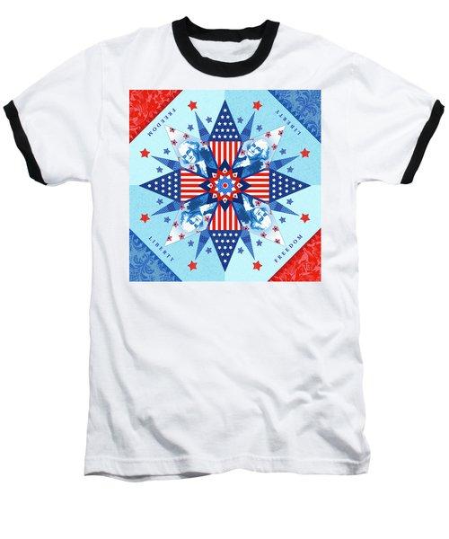 Liberty Quilt Baseball T-Shirt