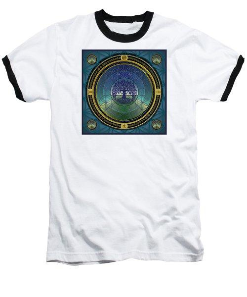 Life Mandala Baseball T-Shirt