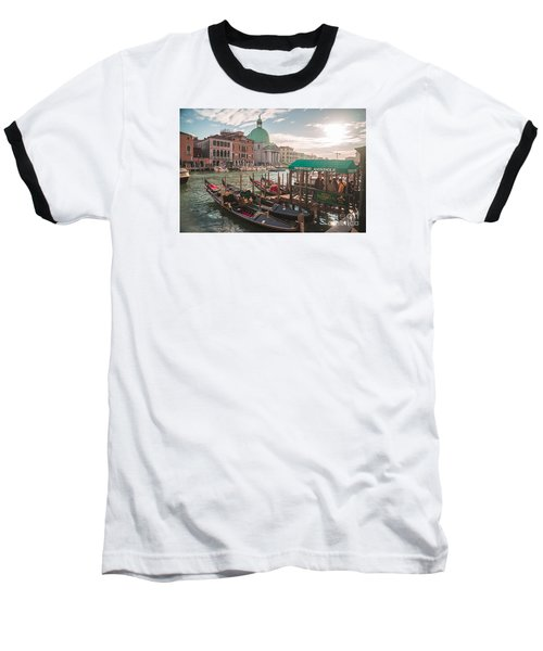 Life Of Venice - Italy Baseball T-Shirt