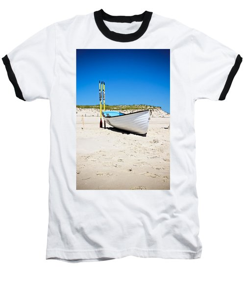 Lifeboat And Oars Baseball T-Shirt