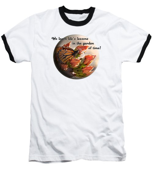 Baseball T-Shirt featuring the photograph Life's Garden by Phyllis Denton