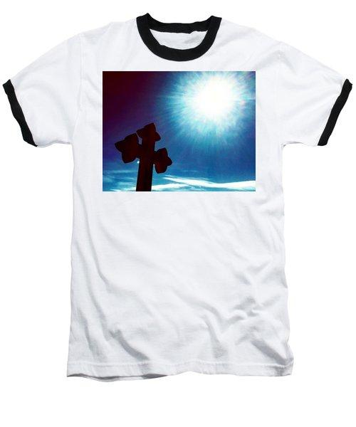 Light And Shadow Clash Baseball T-Shirt