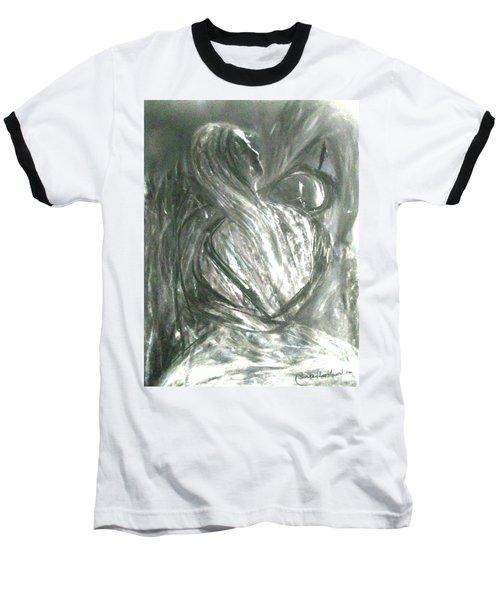 Light And Shadow Baseball T-Shirt