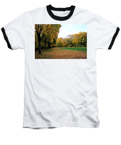 Light Blue Sky  Baseball T-Shirt