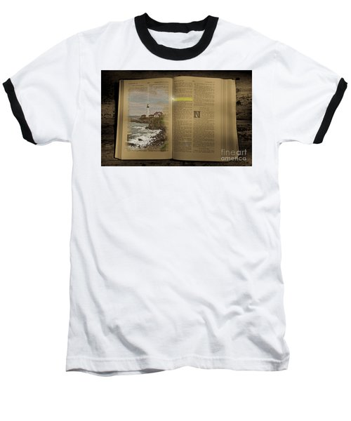 Light Of The World Baseball T-Shirt