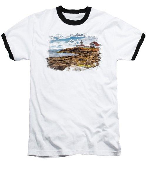 Light On The Sea Baseball T-Shirt by John M Bailey
