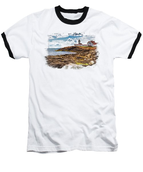 Light On The Sea Baseball T-Shirt
