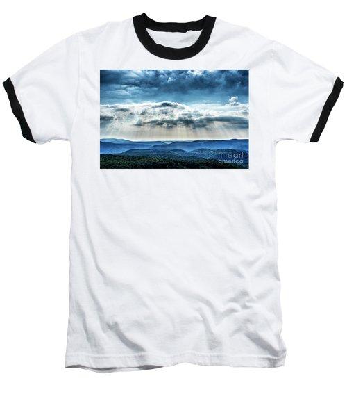Baseball T-Shirt featuring the photograph Light Rains Down by Thomas R Fletcher