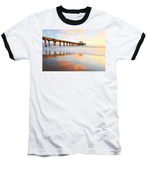 Light Reflections Baseball T-Shirt by Nicki Frates