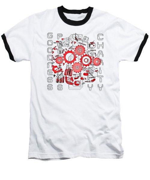 Light United Faith Baseball T-Shirt