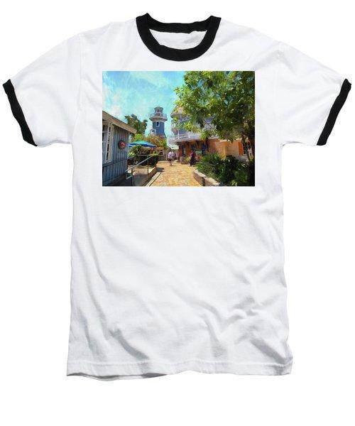 Lighthouse At Seaport Village Baseball T-Shirt