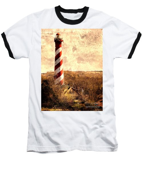 Lighthouse Westerlichttoren Baseball T-Shirt