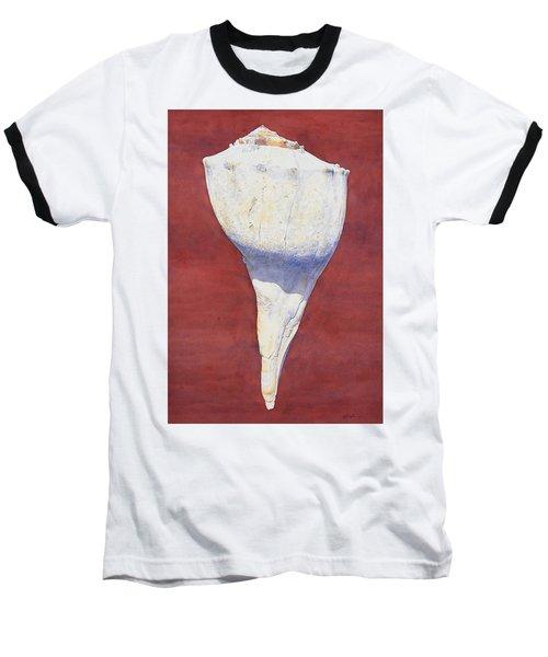 Lightning Whelk Conch II Baseball T-Shirt