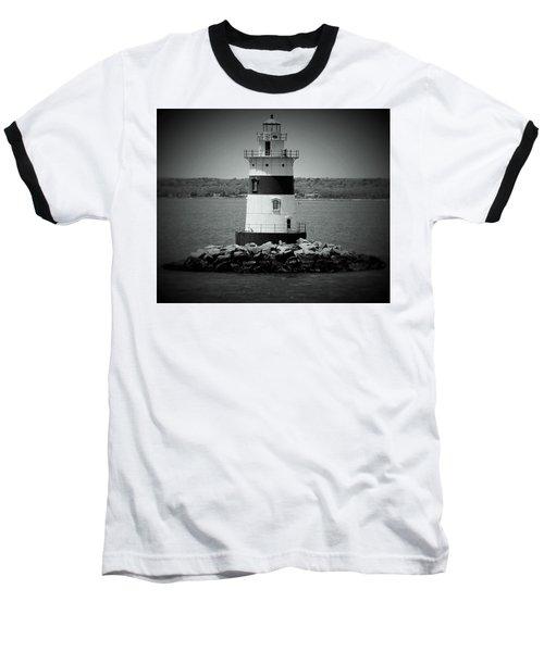 Lights Out-bw Baseball T-Shirt