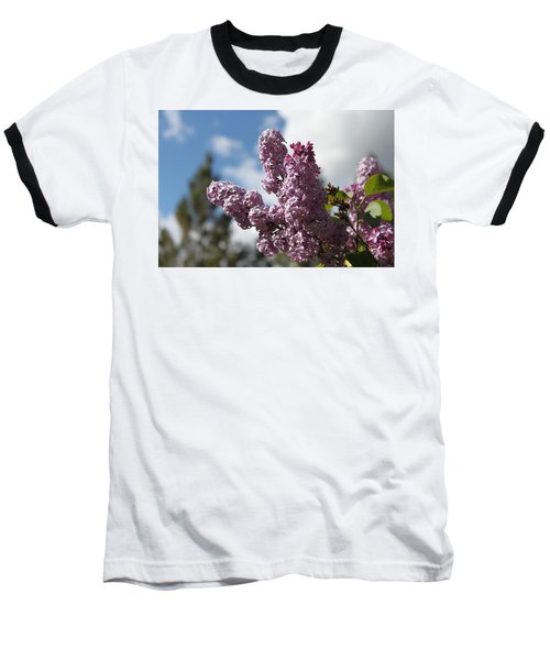 Baseball T-Shirt featuring the photograph Lilacs 5547 by Antonio Romero