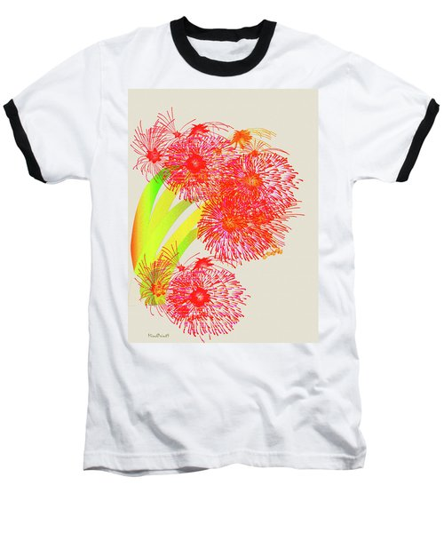 Baseball T-Shirt featuring the digital art Lilly Pilly by Asok Mukhopadhyay