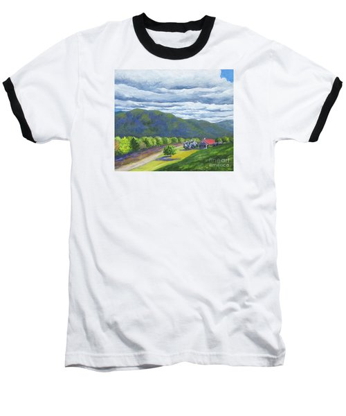 Lil's Place Baseball T-Shirt by Anne Marie Brown