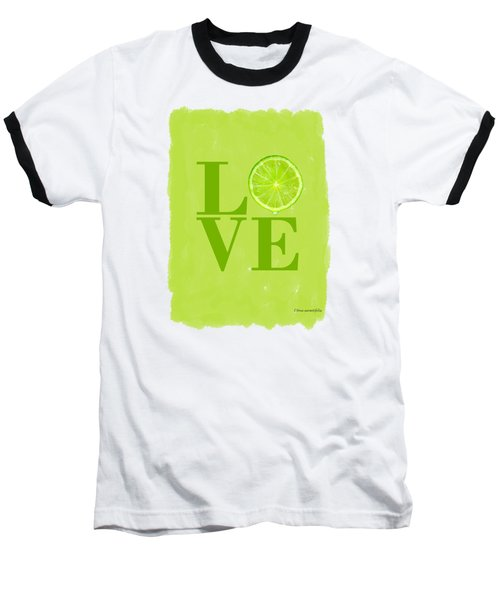 Lime Baseball T-Shirt by Mark Rogan