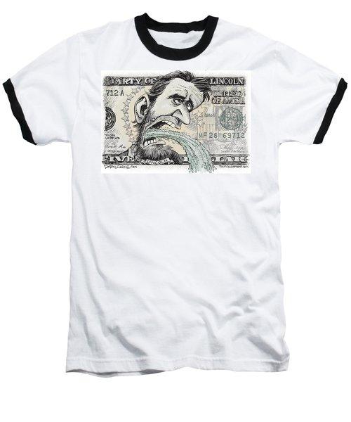 Lincoln Barfs Baseball T-Shirt