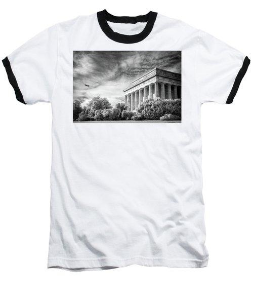 Lincoln Memorial Baseball T-Shirt by Paul Seymour