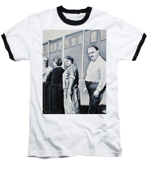 Line Of Peculiar People Baseball T-Shirt