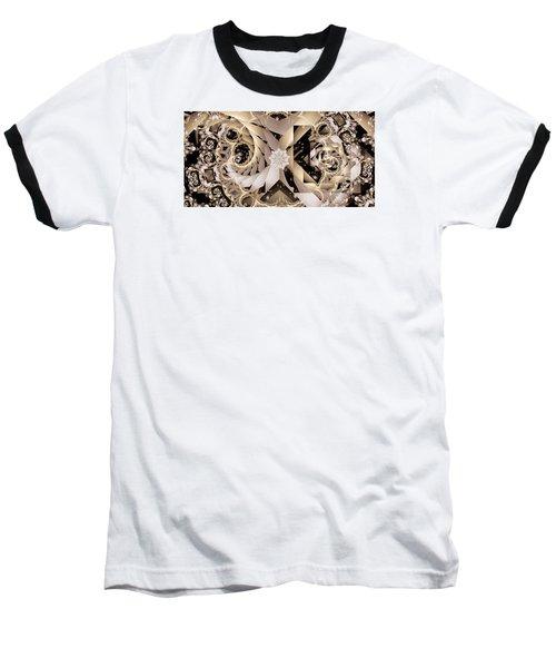 Linen And Silk Baseball T-Shirt