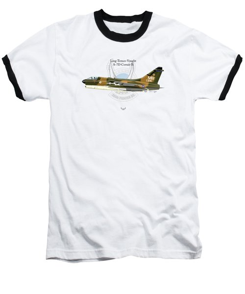 Ling-temco-vaught A-7d Corsair Baseball T-Shirt