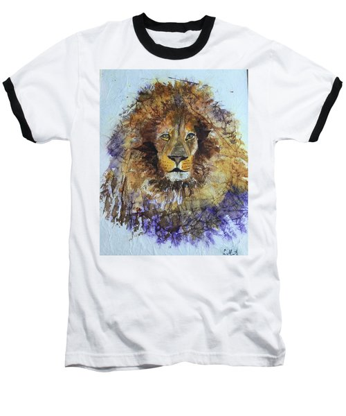 Lion Head Baseball T-Shirt